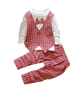 Ensemble de Vêtements bébé Imprimé Ecole Coton Automne-