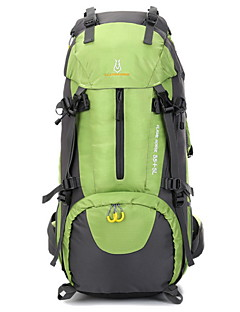 65L L バックパッキング用バックパック 登山 キャンピング&ハイキング 多機能の ナイロン