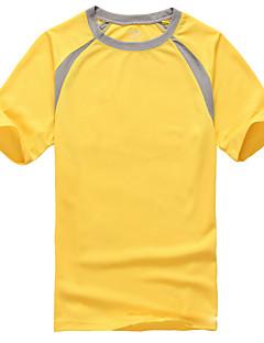 baratos Camisetas para Trilhas-Homens / Mulheres Camiseta de Trilha Ao ar livre Secagem Rápida Blusas Esportes Relaxantes