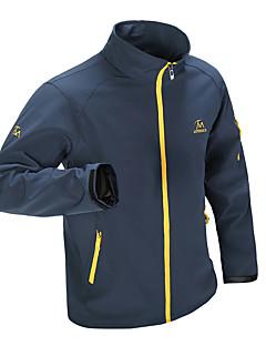 ieftine Αντιανεμικά & Jachete de Lână-Bărbați În aer liber Iarnă Impermeabil, Keep Warm, Uscare rapidă Jachete Softshell Camping & Drumeții / Rezistent la Vânt / Rezistent la Vânt