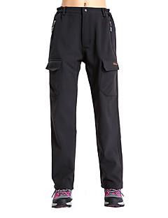 tanie Turystyczne spodnie i szorty-Damskie Softshellové kalhoty Keep Warm Wiatroodporna Polarowa podszewka Ultraviolet Resistant Zdatny do noszenia Oddychający Tylnej