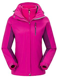 Roupa de Esqui Jaquetas de Esqui/Snowboard Mulheres Roupa de Inverno Poliéster Sólido Vestuário de InvernoTérmico/Quente A Prova de Vento