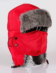 Chapkamuts Bontmuts Ski Hoed Face Mask Dames Heren Unisex Houd Warm Snowboard Katoen KlassiekSkiën Kamperen&Wandelen Afdaling Snowboarden