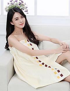 バスローブ,ジャカード織 高品質 竹繊維100% タオル