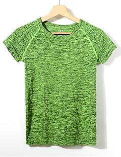 billiga Träning-, jogging- och yogakläder-Dam T-shirt för jogging - Rosenröd, Grön, Marinblå sporter T-shirt / Collegetröja / Överdelar Kortärmad Sportkläder Snabb tork,