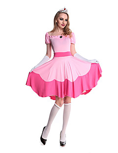 billige Halloweenkostymer-Doktorveske Cosplay Kostumer / Party-kostyme Dame Halloween Festival / høytid Halloween-kostymer Ensfarget
