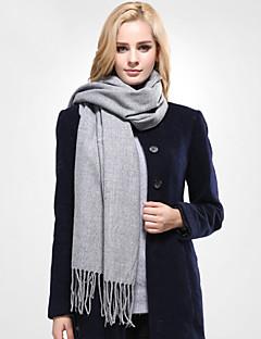 Unisex Freizeit Acryl / Baumwolle Schal,Rechteck einfarbig Frühling / Herbst / Winter