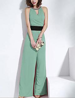 Χαμηλού Κόστους Designed For Elegance-μπλε / κόκκινο / πράσινο στολές, vintage / σέξι / παραλία / casual / κόμμα / αμάνικο εργασίας Joanne γυναίκες γατάκι