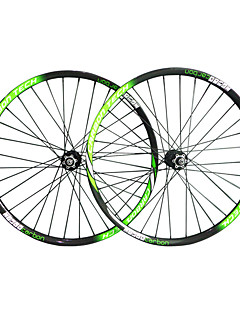 cheap Tires, Tubes & Wheelsets-29 inch Wheelsets Cycling 25mm MTB / Mountain Bike Full Carbon Carbon Alloy Clincher 16-32 Spokes 50mm 23mm