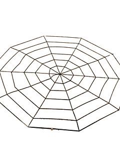 Hämähäkit Halloween Props Unisex Halloween Festivaali / loma Halloween-asut Musta Valkoinen Yhtenäinen