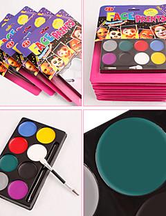 temizlemek için yüz makyaj boya pigmenti Halloween diy 8 renkli pigment suit güvenlik kolay