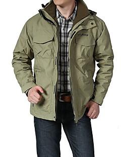 Miesten Softshell-takki vaellukseen Vedenkestävä Pidä lämpimänä Tuulenkestävä Käytettävä Hengittävä Ulko- Softshell-takit Topit varten