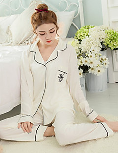 Women's Cute Two-piece Set Pajama,Conton,Fashion Printing,2Colours