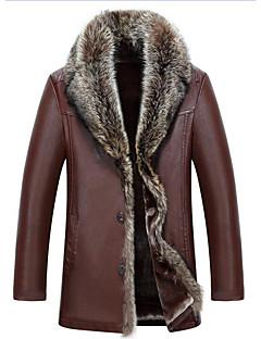 billige Herremote og klær-Tynn Frakk - Ensfarget Herre