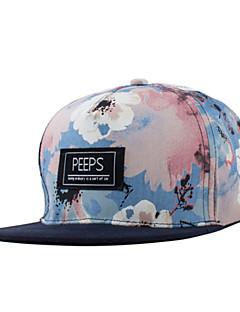 billige Trendy hatter-Baseballcaps Unisex Alle årstider Fritid Bomull