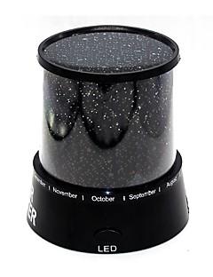 tanie Światła prezentów-1 szt. Projektor gwiazd NightLight Zasilanie bateriami AA LED