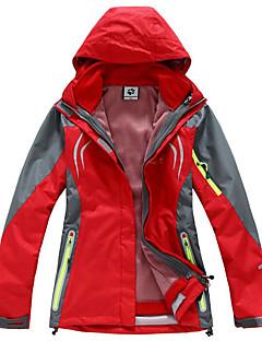 Skikleding Windjacks Dames Winteroutfit Chinlon Winterkleding waterdicht Houd Warm Winddicht Anti-statisch Lente Winter Herfst