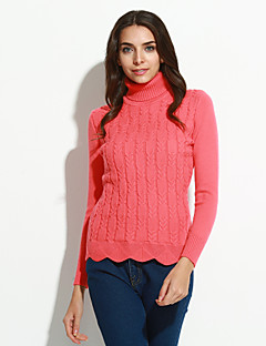 cheap Sale-Women's Street chic Pullover - Solid Colored