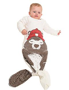 Kigurumi Pyjamas Hai Kostume Svart Rød Brun Bomull Kigurumi Trikot / Heldraktskostymer Cosplay Festival / høytid Pysjamas med dyremotiv