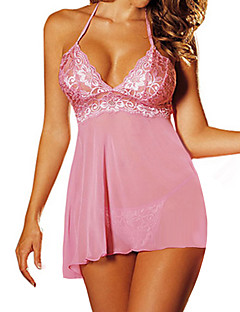 Women'S Ultra Sexy Transparent Nightwear 4 Colors Available Size 4XL