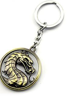 Mais Acessórios Inspirado por Game of Thrones Fantasias Anime Acessórios de Cosplay Chaveiro Dourado / Prateado Liga