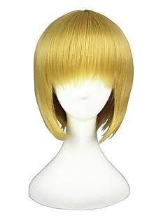 billige Anime cosplay-Cosplay Parykker Helmetall Alkemist Akari Anime Cosplay-parykker 30cm CM Varmeresistent Fiber Herre Dame