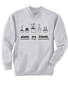 billige Pigesweaters og hættetrøjer-Dame Langærmet Sweatshirt - 3D Print, Trykt mønster