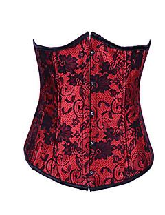 Korzet Gothic Lolita Lolita Příslušenství Pro Satén