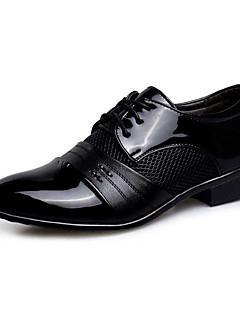 Erkek Oxford Modeli Yenilikçi Bullock ayakkabı Biçimsel Ayakkabı PU Bahar Sonbahar Düğün Günlük Parti ve GeceYenilikçi Bullock ayakkabı