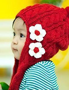 tanie Akcesoria dla dzieci-Kapelusze i czapki - Dla dziewczynek - Zima - Dzianina Czerwony