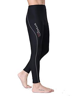 Dive&Sail Férfi Női Uniszex 1,5 mm Dive Skins Szörfruha nadrágVízálló Melegen tartani Gyors szárítás Ultraibolya biztos Viselhető