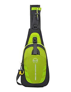 baratos Total Promoção Limpa Estoque-10LBolsa de Ombro Bolsa Transversal para Acampar e Caminhar Ciclismo / Moto Viajar Corrida Cooper Bolsas para Esporte Prova-de-Água Á
