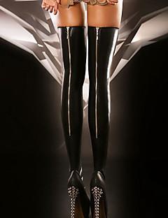 Χαμηλού Κόστους Κάλτσες & Καλσόν-Γυναικεία Καλτσοδέτες-Μονόχρωμο Μεσαίο