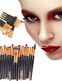 cheap Makeup Brushes-20pcs Makeup Brushes Professional Eyeliner Brush Blush Brush Lip Brush Eyebrow Brush Eyeshadow Brush Concealer Brush Contour Brush Makeup Brush Set Portable / Eco-friendly / Professional Plastic