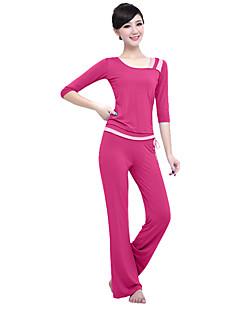 ヨガ 洋服セット/スーツ 高通気性 快適 伸縮性 スポーツウェア 女性用ヨガ