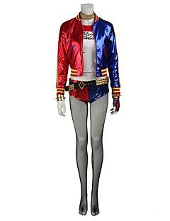 billige -Assassin Cosplay Cosplay Kostumer Maskerade Party-kostyme Halloween Utstyr Sokker og Strømpebukser Film-Cosplay Frakk Topp Bukser Hansker