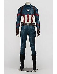 Süper Kahramanlar Cosplay Cosplay Kostümleri Cadılar Bayramı Aksesuarları Parti Kostümleri Maskeli Balo Film Kostümleri Mavi Palto