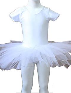 お買い得  ベーシックダンスウェア-バレエ チュチュ 女性用 子供用 演出 訓練 ナイロン チュール ライクラ 1個 チュチュ