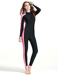 お買い得  ウェットスーツ/ダイビングスーツ/ラッシュガードシャツ-SBART 女性用 ダイブスキンスーツ 抗紫外線 高通気性 フルボディー ビデオ圧縮 タクテル ダイビングスーツ 潜水