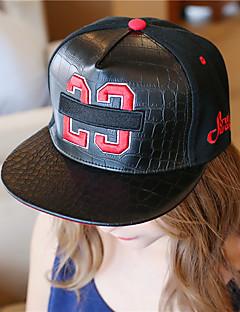 כובע בייסבול כובע שמש יוניסקס יום יומי,כותנה דמוי עור קיץ כל העונות