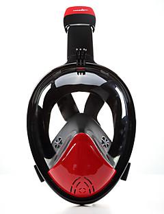 voordelige Surfen, duiken & snorkelen-Snorkelmasker Duiken Maskers Anti-condens Lekbestendig 180 Graden Volledige gezichtsmaskers - Kinderen Volwassenen Duiken neopreeni