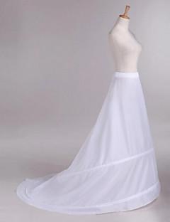 Unterhosen Kapellen-Schleier Kathedralenlänge 1 Polyester Weiß