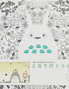 billige Anime cosplay-Mer Tilbehør Inspirert av Min nabo Totoro Cosplay Papir 12 CM Modell Leker Dukke
