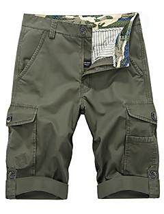 baratos Calças e Shorts para Trilhas-Homens Shorts de Trilha Ao ar livre Respirável Shorts / Calças Pesca