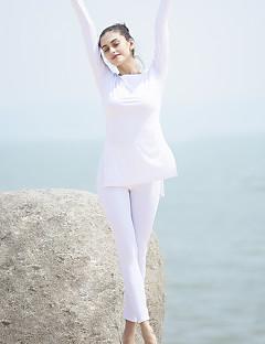 Yoga & Dansesko Klessett/Dresser Pustende Høy Pusteevne Komprimering Bekvem Uelastisk Stretch Høy Elastisitet Drakter DameYoga & Danse