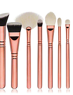 voordelige Make-upborstels-8 stuks professioneel Make-up kwasten Brush Sets / Contour Brush / Foundationkwast Synthetisch haar Milieuvriendelijk / Beugel Hout Oog /
