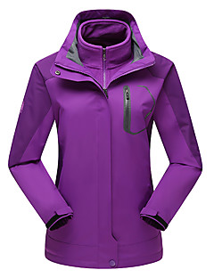 LEIBINDI Dames 3-in-1 jacks Buiten Winter waterdicht Houd Warm Winddicht Fleece voering Stofbestendig Ademend 3-in-1 jacks Winterjack