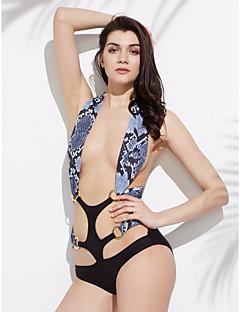 Women's Bandeau Bikini,Solid Polyester Gray