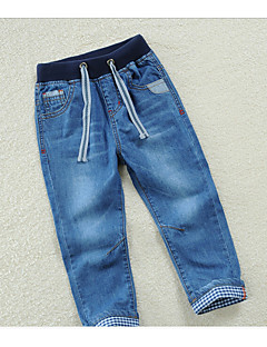 Boys' Casual/Daily Solid Pants-Polyester Spring Summer Fall