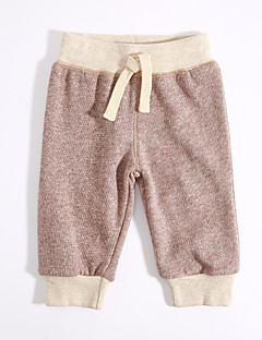 Unisex Casual/Daily Solid Pants-Cotton Spring Fall